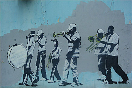 banksy-marching-band