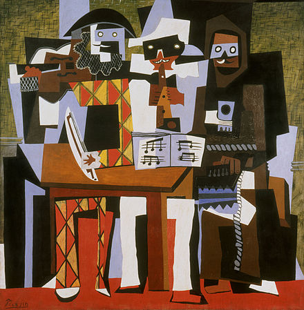 pablo_picasso_1921_nous_autres_musiciens_three_musicians_oil_on_canvas_204-1-5_x_188-3_cm_philadelphia_museum_of_art