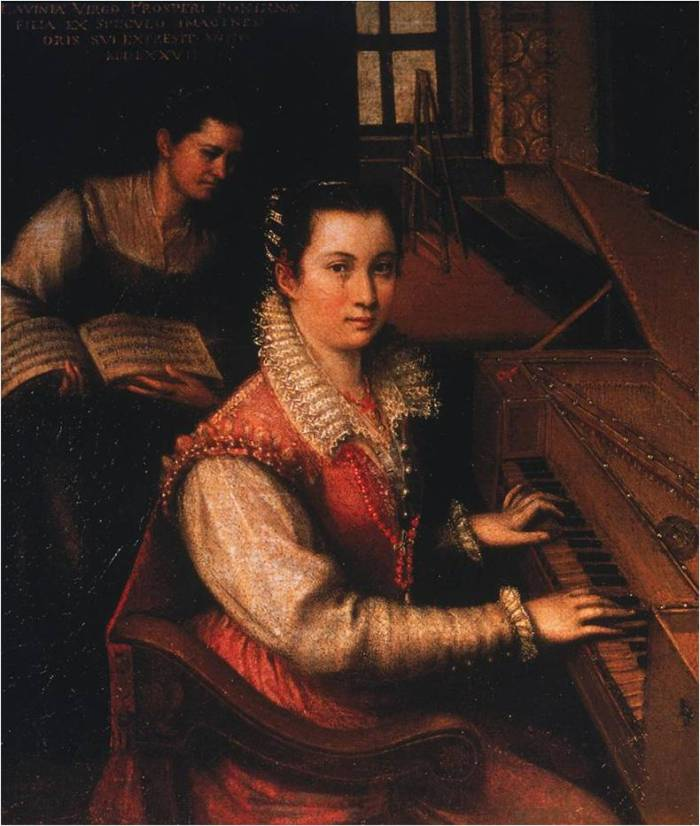 Fontana-Self-Portrait-at-the-Spinet-1577