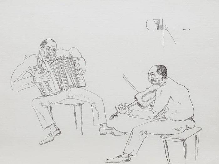 Lautari - Constantin Piliuta