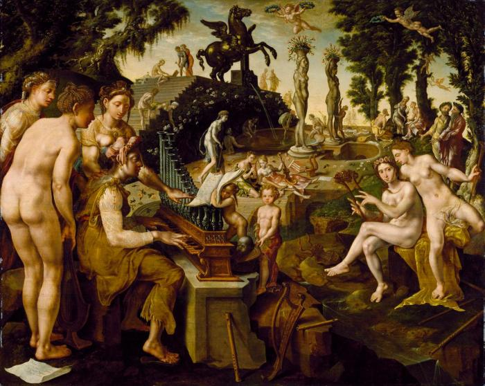 Maerten_van_Heemskerck_-_Concert_of_Apollo_and_the_Muses_on_Mount_Helicon_(Chrysler_Museum_of_Art).jpg